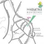 Harmoni location map