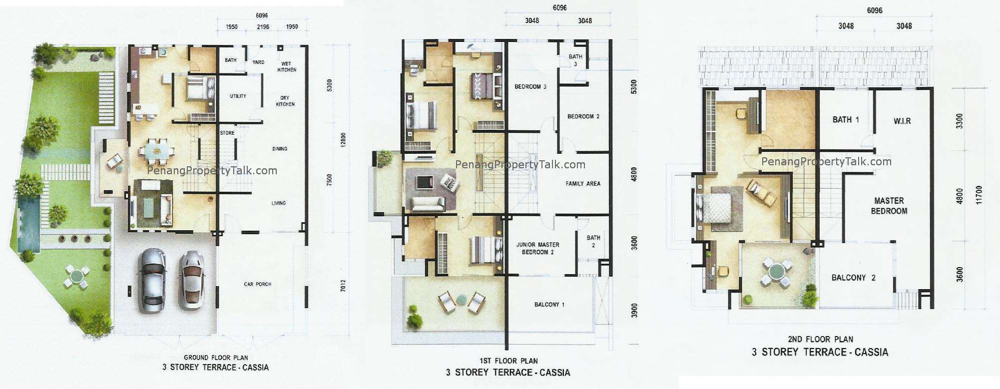 Cassia Floor Plan Penang Property Talk