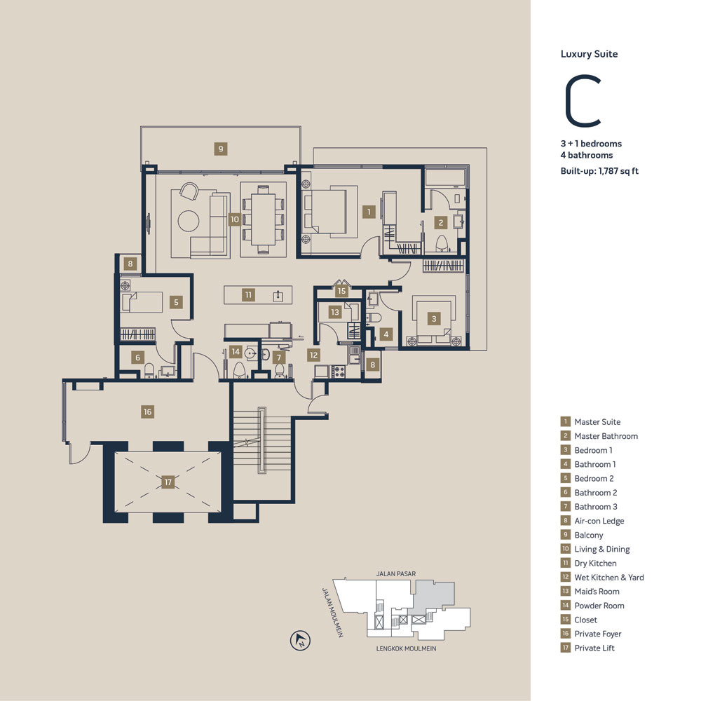 1 Moulmein Rise Floor Plan Moulmein Rise Residential