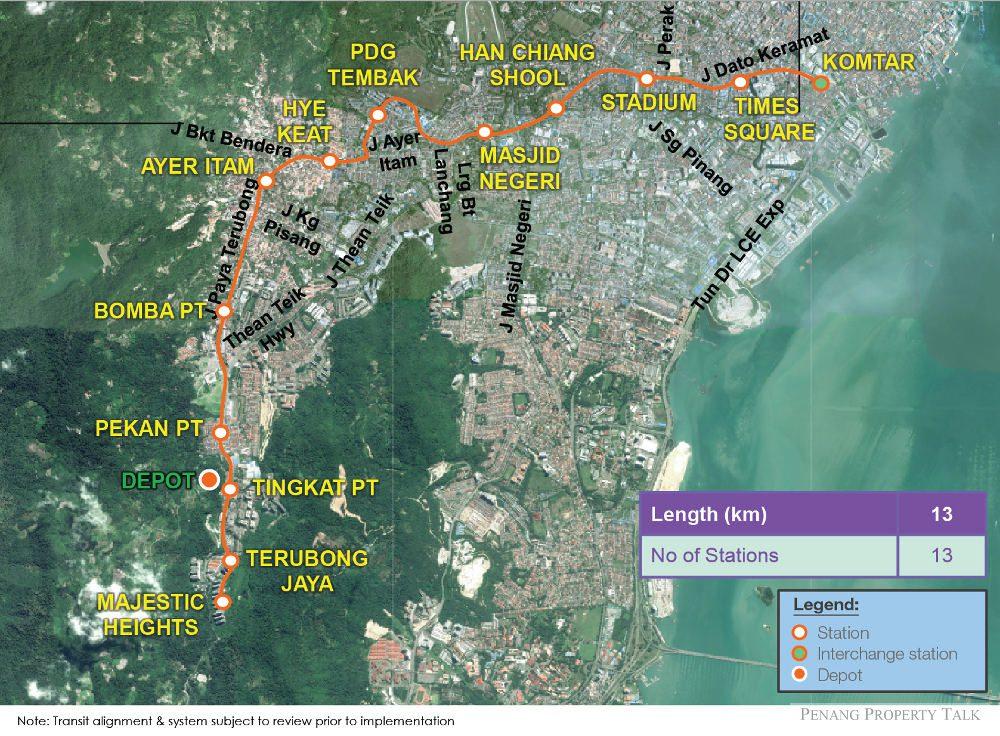 Ayer-Itam-monorail