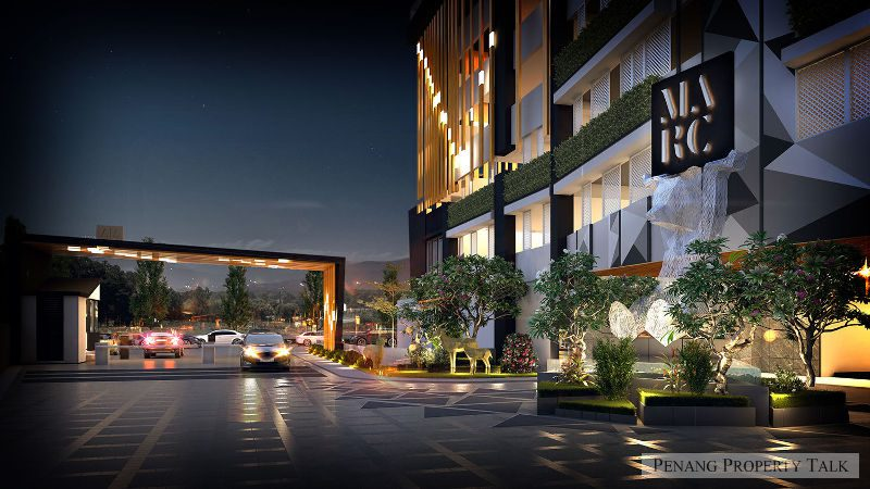marc-residences-entrace