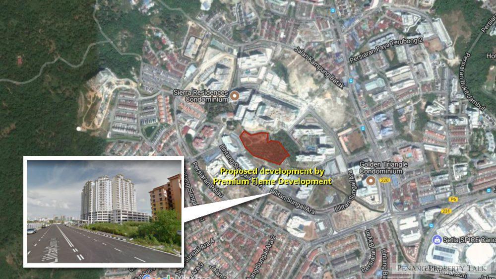 proposed-sungai-ara-Premium-Flame-Development