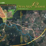 desa-ara-permai-location-map