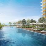 Anggun Residences - Pool view