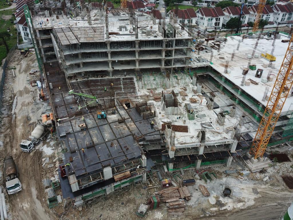 gem-residence-site-progress-June-2021