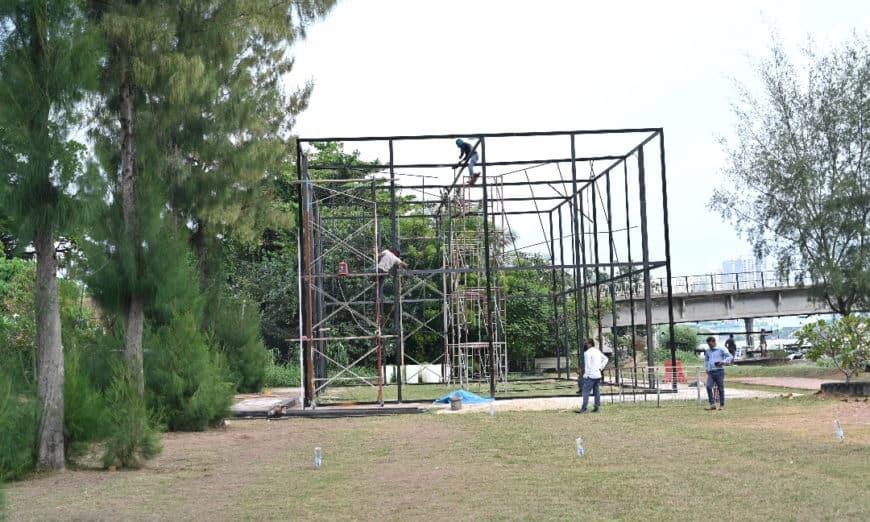 peacock-park-construction